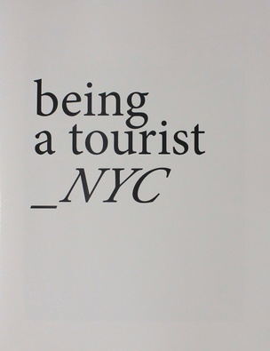 Being a Tourist_NYC