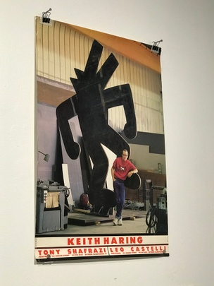 Keith Haring: Leo Castelli and Tony Shafrazi Poster
