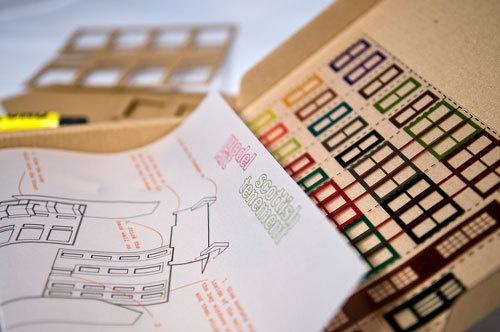 Model Kit Scottish Tenement Housing