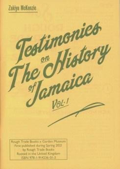 Testimonies On The History Of Jamaica, Vol.1