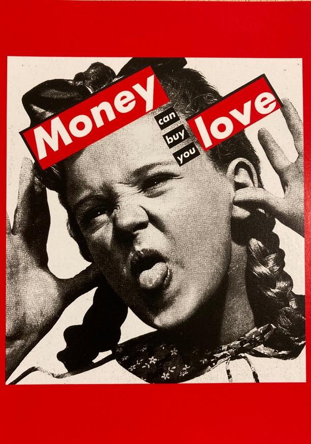 Money Can Buy You Love Postcard thumbnail 2
