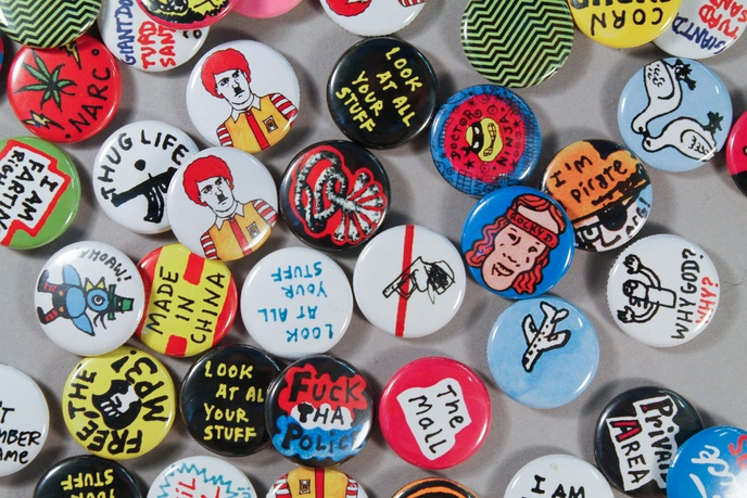 Retard Riot Buttons
