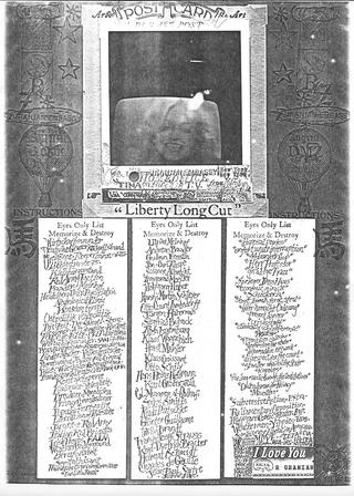 Liberty Long Cut Eyes Only List