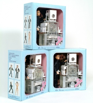 Wim Delvoye Posable Action Figure (Early Version)