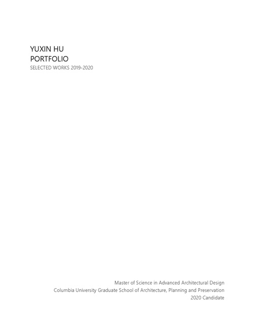 AAD HuYuxin SP20 Portfolio.pdf_P1_cover.jpg
