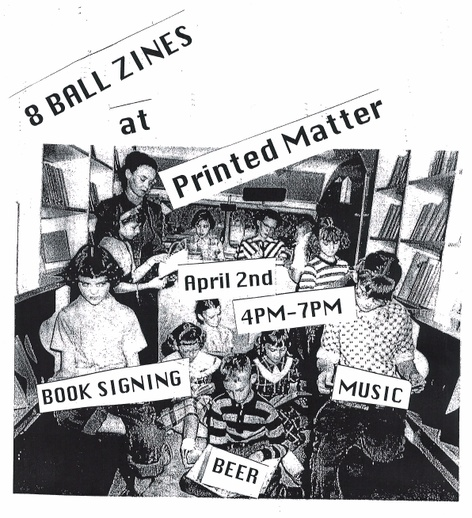 The Newsstand - Book Launch with 8ball Zines