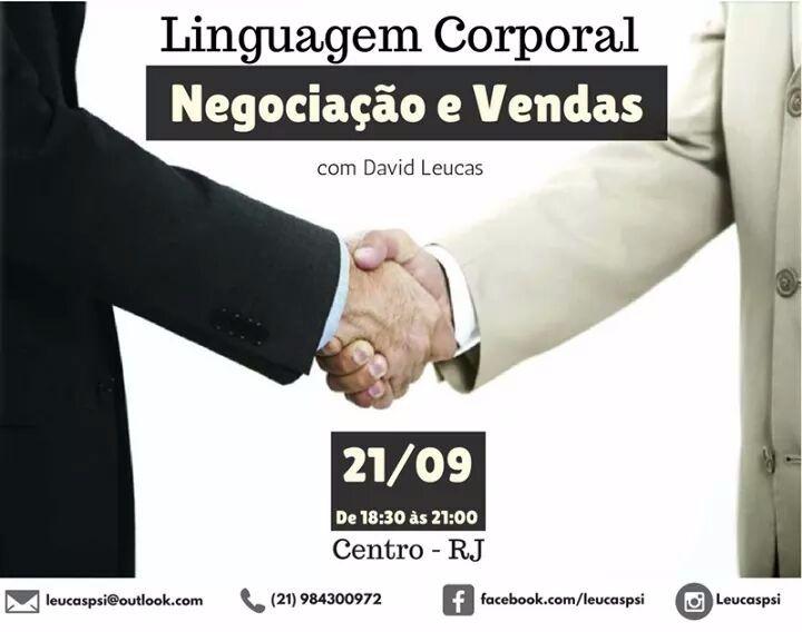 Linguagem corporal, negociação e vendas