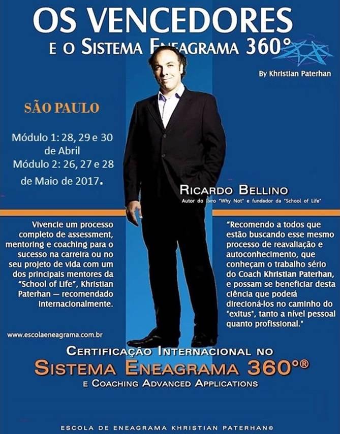 Construa uma personalidade vencedora - Certificação Sistema Eneagrama 360 - São Paulo