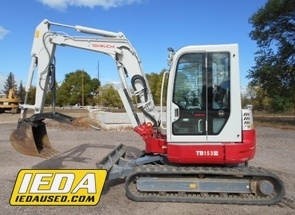 Used 2013 Takeuchi TB153FR For Sale