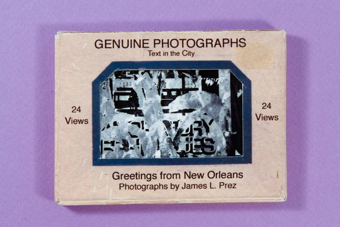 Text in the City : Greetings From New Orleans