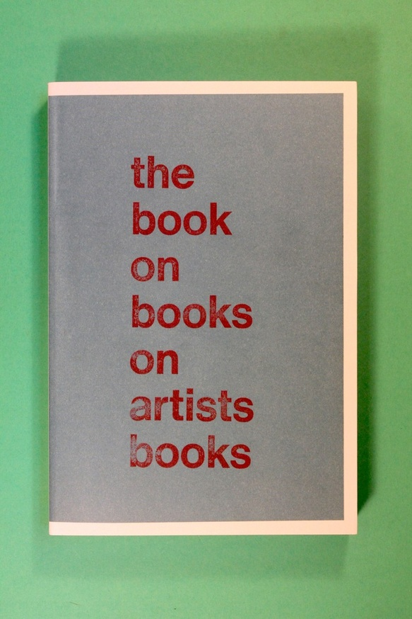 The Book on Books on Artists Books thumbnail 2