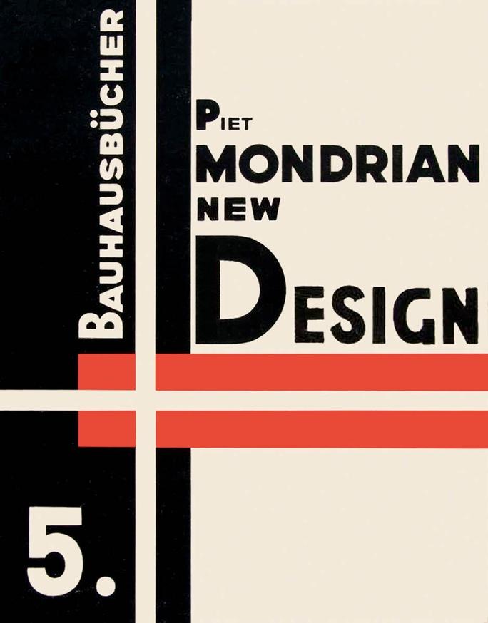 Bauhausbücher 5: Piet Mondrian New Design