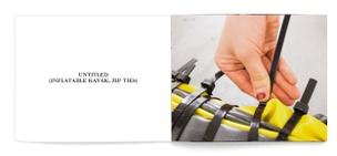 Untitled (Inflatable Kayak, Zip Ties)
