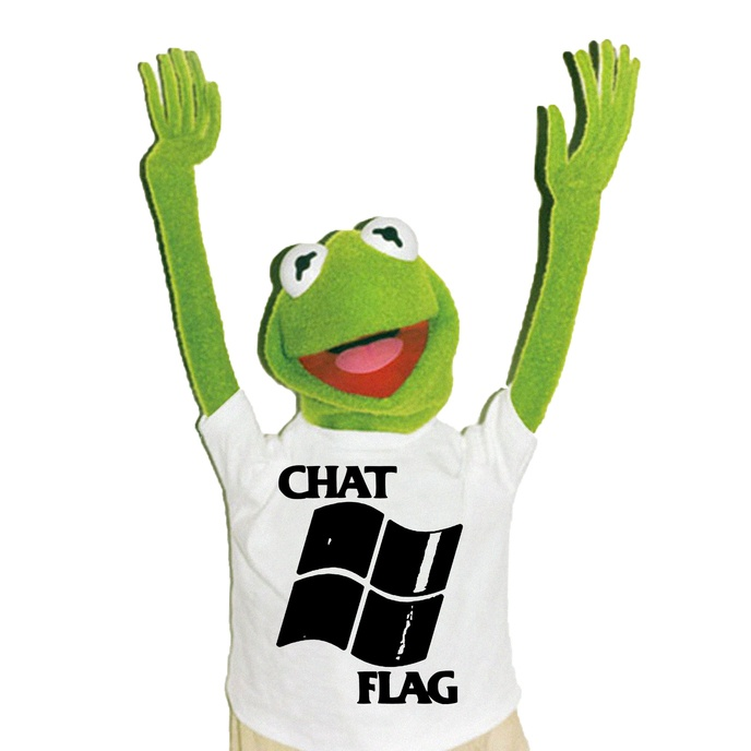 Chat Flag Bootleg T-Shirt [S, XL, XXL]