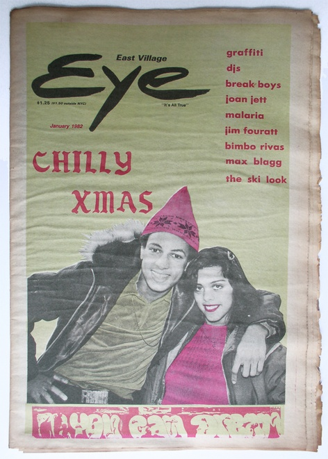 EAST VILLAGE EYE - MAGS, SHIRTS AND MINI-SYMPOSIUM
