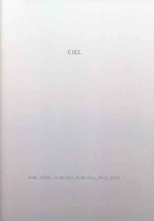 CIEL (Rome - Assisi 25/8/2013-1/9/2012)