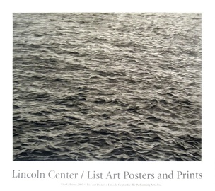 Lincoln Center Art Poster, 2005