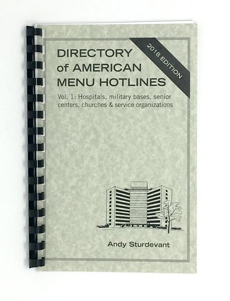 Directory of American Menu Hotlines