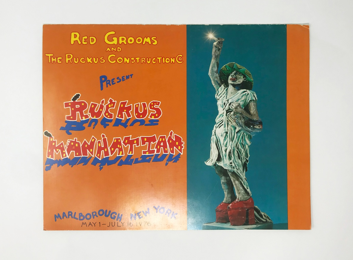 Ruckus Manhattan Parts I & II Exhibition Catalog thumbnail 2