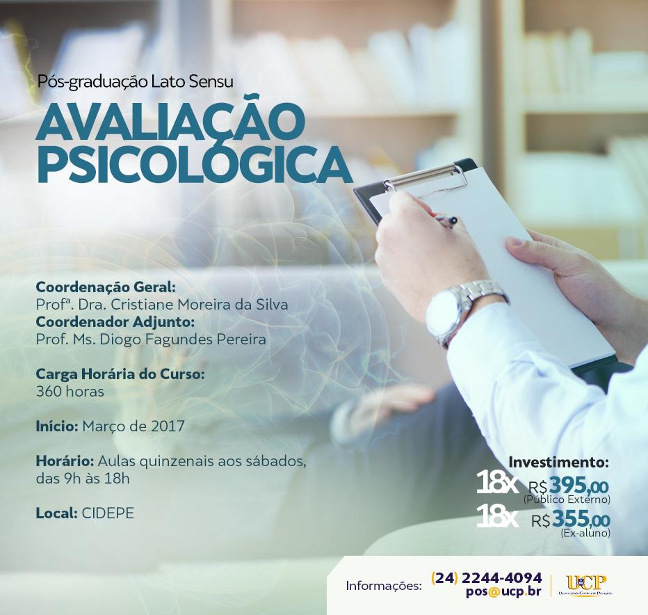 Pós Graduação em Avaliação Psicológica