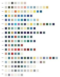 354,007 Combinations of a 2x2 Grid with 18 Sets of Color