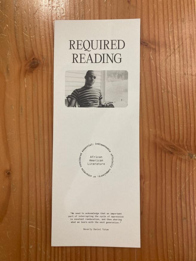 Literature Checklist One Sheet