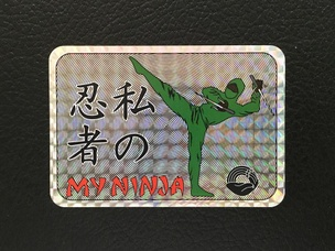 My Ninja Sticker