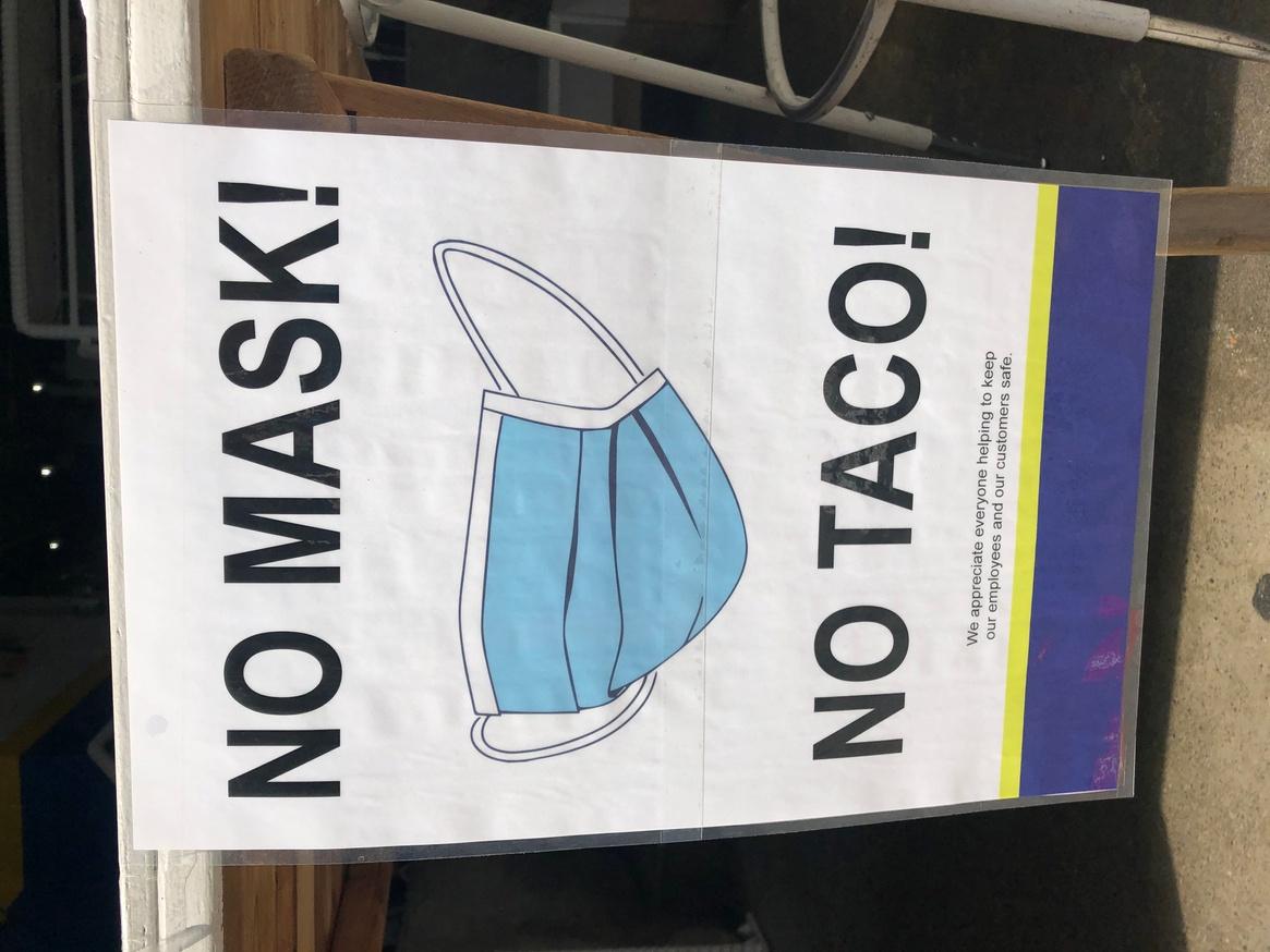 No Mask No Taco