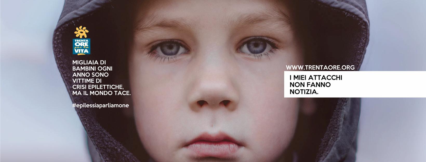 Trenta Ore per la Vita in campo  contro l'epilessia dei bambini