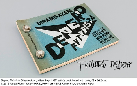 Depero Futurista : The Bolted Book