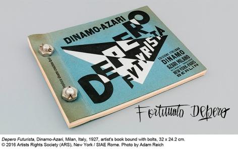 Depero Futurista : The Bolted Book