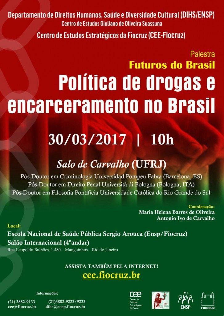Futuros do Brasil: Política de drogas e encarceramento no Brasil