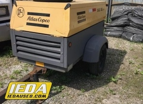 Used 2007 Atlas Copco XAS185JD For Sale