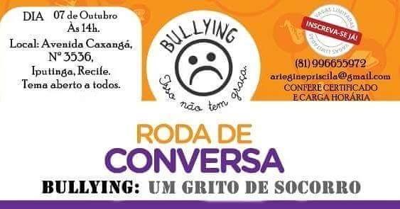 Roda de Conversa (Bullying - Um grito de socorro)