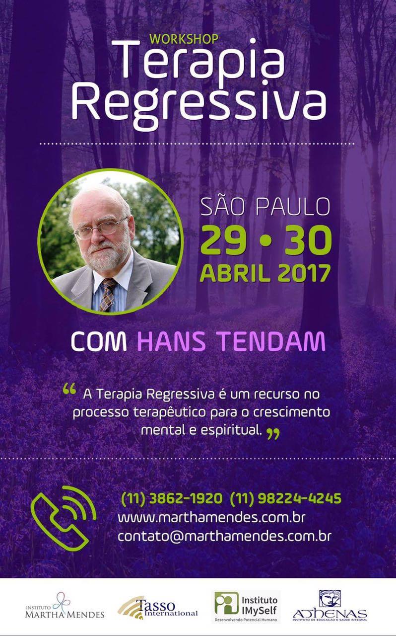 Workshop em Terapia Regressiva com Hans TenDAm