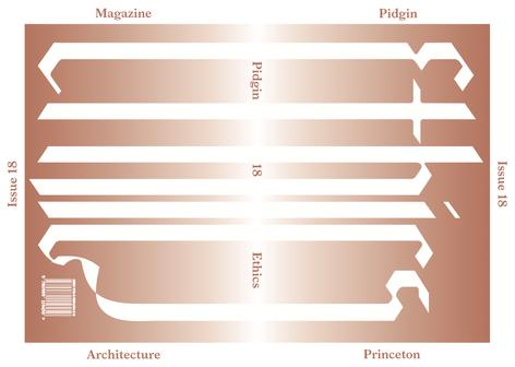 Pidgin 18 : ETHICS - Book Launch