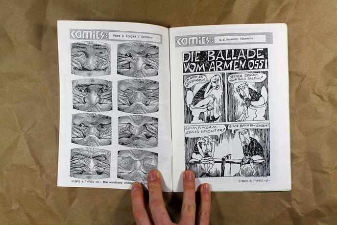 Stars & Types : International Comics Fanzine thumbnail 2