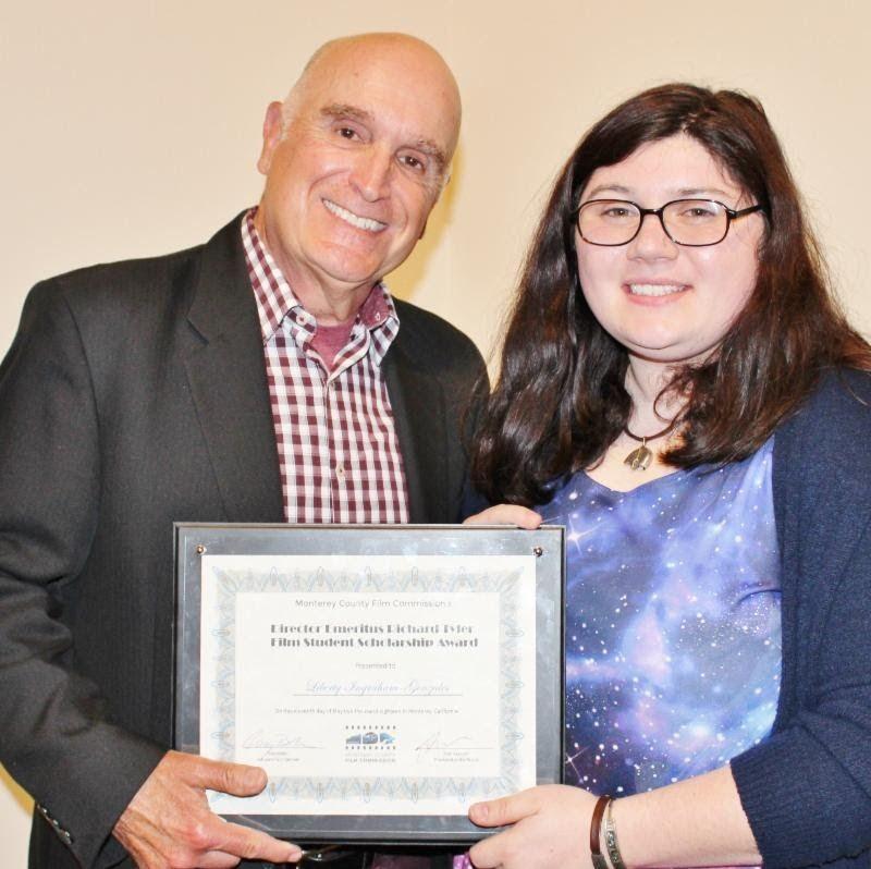 CART Major Liberty Ingraham-Gonzales Receives $2,000 Film Scholarship