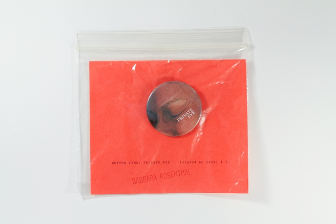Button Pin: Private Eye