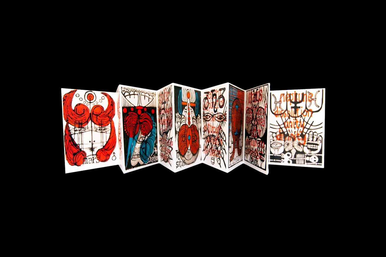 the Planets, accordion book thumbnail 2