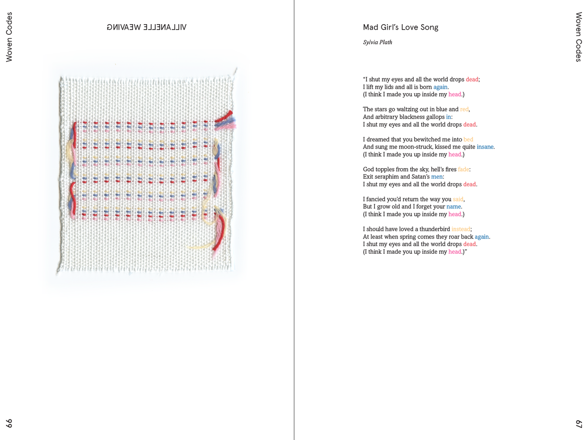 Weaving Language II: Language is Image, Paper, Code, & Cloth thumbnail 7