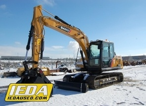 Used 2018 Sany SY135C-9 For Sale