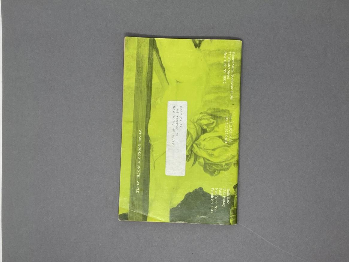 Printed Matter Bookstore at Dia Spring 1991 Catalog thumbnail 7