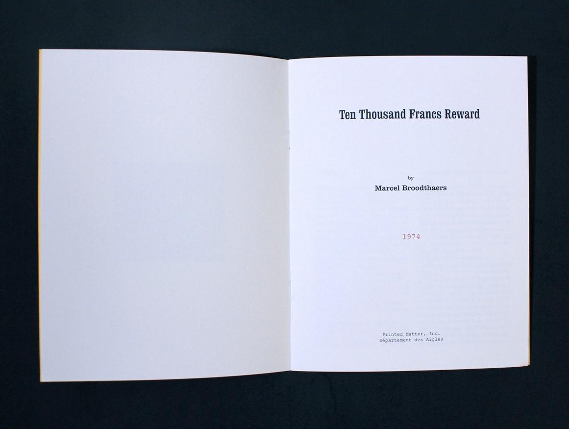 10,000 FRANCS REWARD thumbnail 4