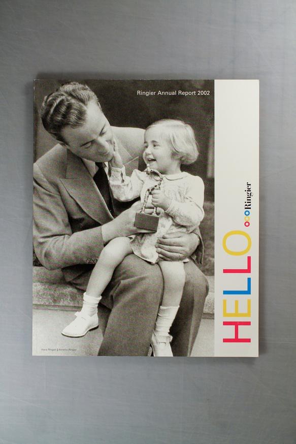 Hello Ringier : Ringier Annual Report 2002 thumbnail 2