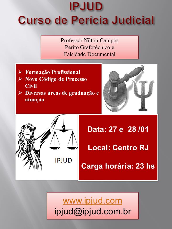 Curso de Perícia Judicial