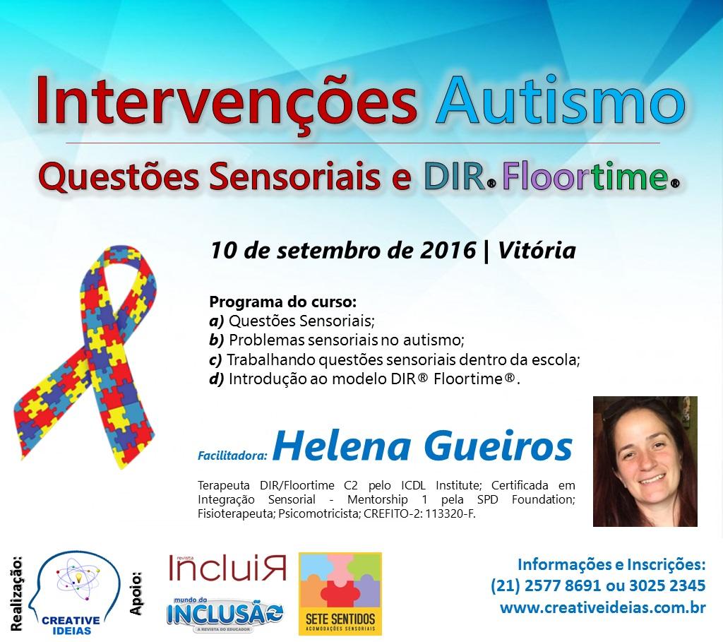 Intervenções Autismo - Questões Sensoriais e DIR/Floortime