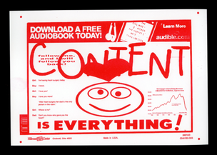 CONTENT IS EVERYTHING Print
