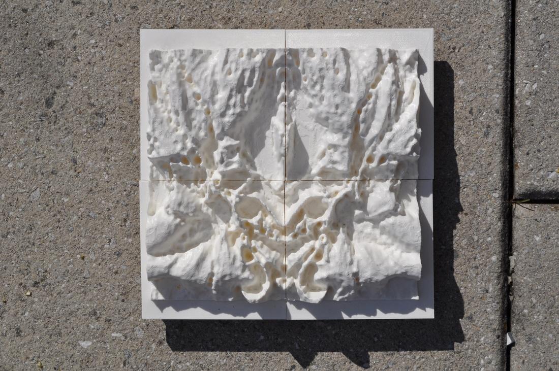 Tile fabrication by Abena Bonna.