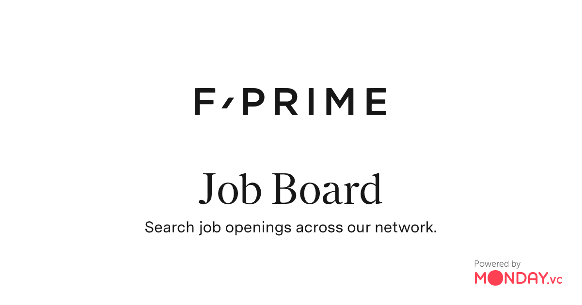 F-Prime Capital Partners Job Board